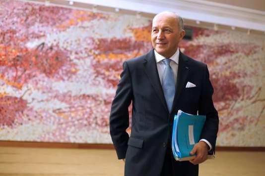 Laurent Fabius, le 18 février.