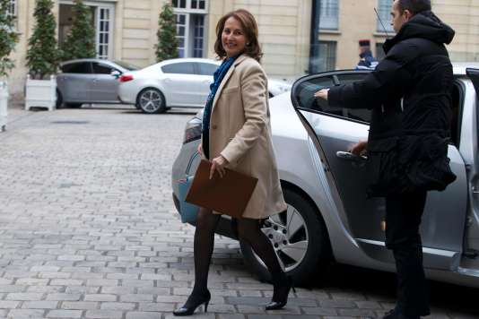 La ministre de l'environnement, de l'énergie et de la mer, Ségolène Royal, à Paris, le 18 février 2016.