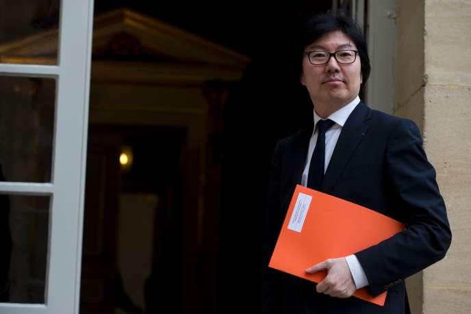 Jean-Vincent Placé, secrétaire d'Etat à la réforme de l'Etat, le 18 février à Paris.