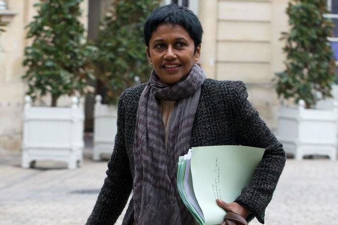 La nouvelle secrétaire d'Etat à l'égalité réelle Ericka Bareigts, le 18 février à Paris.