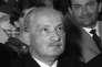 Le penseur allemand Martin Heidegger (1889-1976), en 1960.