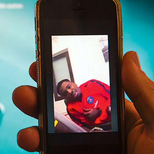 La vidéo de Serge Aurier a été diffusée sur l'application Périscope.