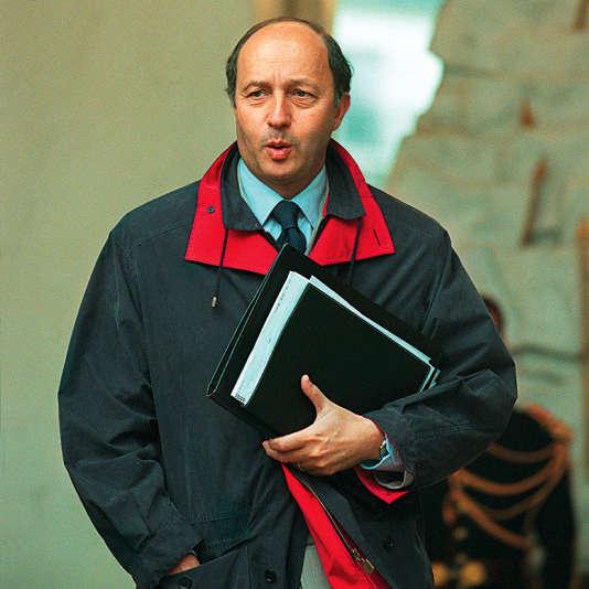 Laurent Fabius en 2000.