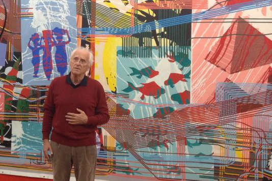 Depuis 2013, Gérard Fromanger travaille sur une série d'œuvres intitulées «Le Cœur fait ce qu'il veut». Dix tableaux sont présentés au Grand Palais et annoncent la rétrospective consacrée à Gérard Fromanger dans un an au Centre Pompidou.