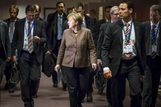 Angela Merkel est hostile aux initiatives individuelles de certains Etats-membres comme l'Autriche concernant les réfugiés.