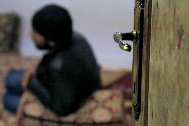 Image tirée du documentaire «Daech, paroles de déserteurs», de Thomas Dandois et François-Xavier Tregan, et qui sera diffusé lors d'une soirée consacrée à la guerre en Syrie sur Arte, le 15mars.
