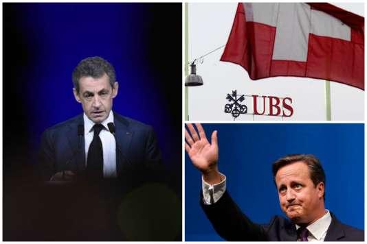 Dans l'actualité de la semaine : Nicolas Sarkozy mis en examen, révélations sur les pratiques d'UBS en matière d'évasion fiscale, et risque d'une sortie du Royaume-Uni de l'UE.