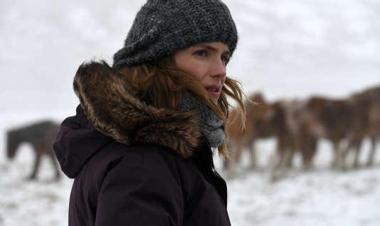 Alice Taglioni dans le rôle d'annette dans le téléfilm de Julie Lopez-Curval «L'Annonce».