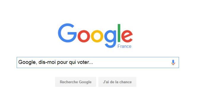 Une photo du moteur de recherche Google.