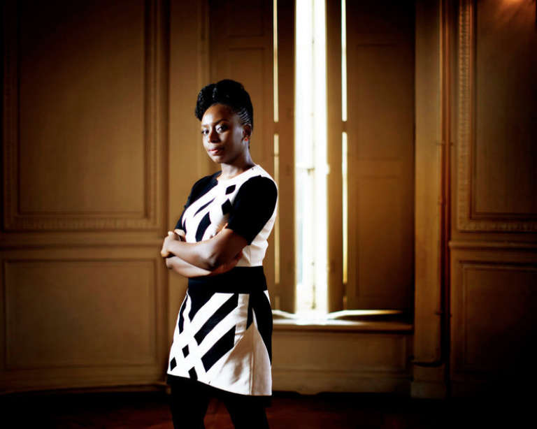 L'écrivaine nigériane Chimamanda Ngozi Adichie.