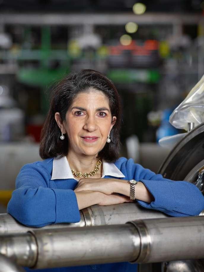 La physicienne Fabiola Gianotti, aux commandes du CERN pour cinq ans.
