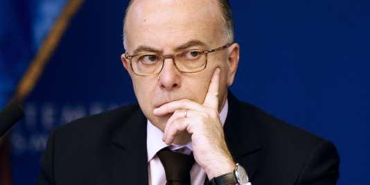 Le ministre de l'intérieur, Bernard Cazeneuve, le 19 février 2016 à Nice.