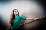 Paris, le 9 février 2016. Camille Berthollet, violoniste, est nommée aux Victoires de la Musique classique.