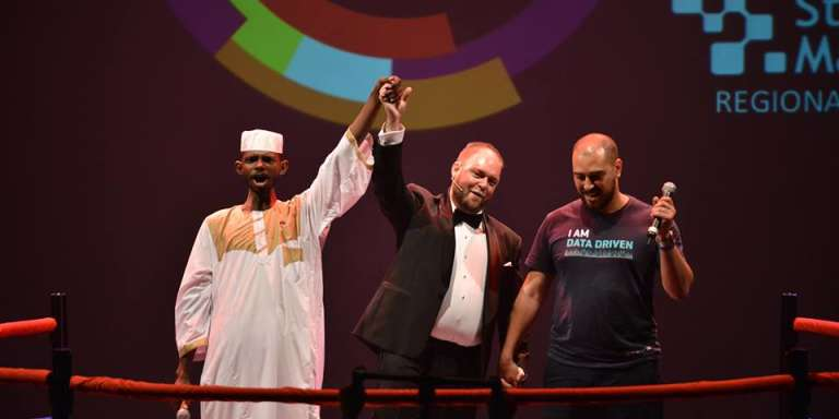 La start-up soudanaise Smart Delivery remporte la finale africaine de Get In The Ring, à Casablanca.