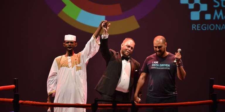 La start-up soudanaise Smart Delivery remporte la finale africaine de Get In The Ring, à Casablanca.