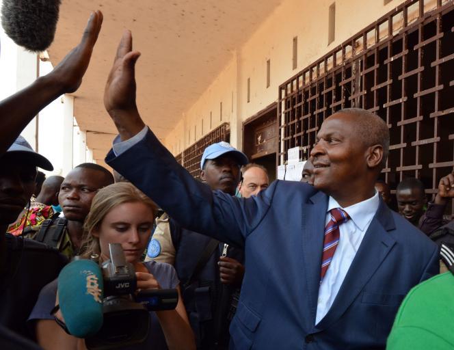Faustin-Archange Touadéra, le 14 février, à Bangui.