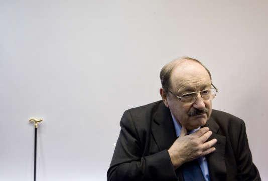 Umberto Eco, le 23 février 2011.