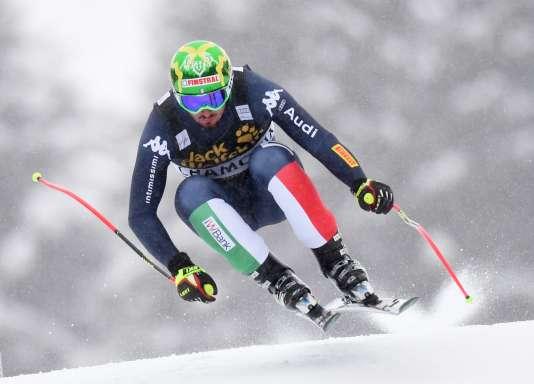 Dominik Paris, vainqueur à Chamonix le 20 février.