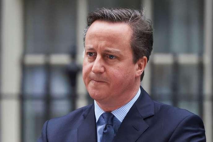 Le premier ministre britannique David Cameron, le 20 février, à Londres.