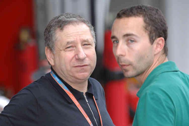 «J'aime bien gagner. Mais les deux personnes avec lesquelles je suis prêt à perdre, c'est Nicolas [son fils, Ici lors du Grand Prix de Malaisie de 2008] et Michelle [son épouse].»