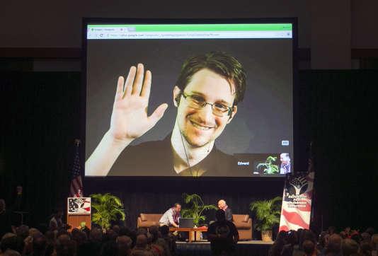 Edward Snowden, ici en février 2015, a révélé le scandale de la surveillance de masse par la NSA.