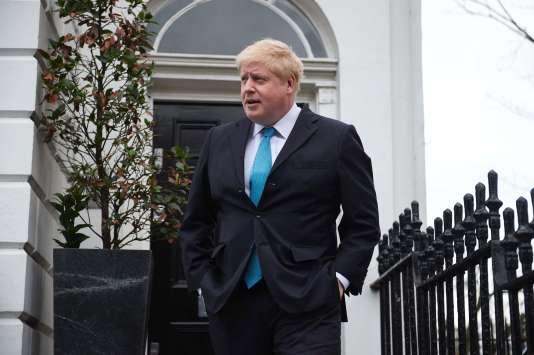 Le maire de Londres, Boris Johnson, le 21 février.