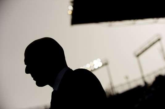Zinédine Zidane, dimanche 21 février à Malaga.
