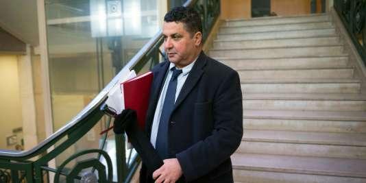 L'ancien président de l'université de Toulon, Laroussi Oueslati, le 18 janvier 2016.