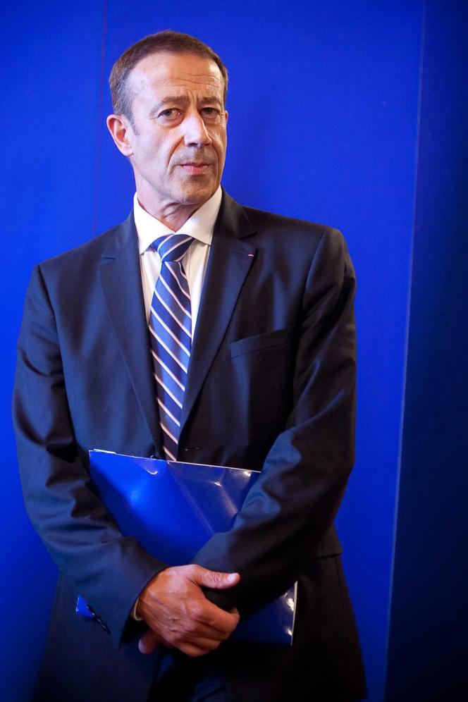 Alain Gardère, en2011, année où il devient préfet délégué à la sécurité àMarseille.