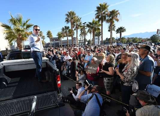 Ted Cruz à Pahrump, dans le Nevada, dimanche 21 février 2016.