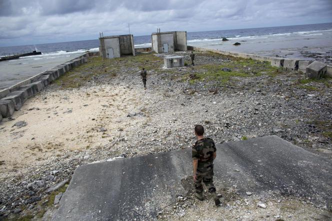 Plus d'une centaine d'essais nucléaires ont été menés par la France dans l'atoll deMururoa en Polynésie.