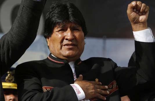 Le président bolivien Evo Morales, le 22 février à La Paz.