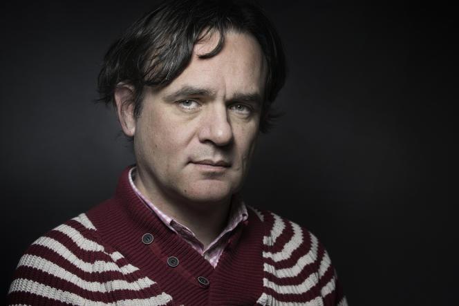 Le directeur de la publication de« Charlie Hebdo»Riss en 2015.