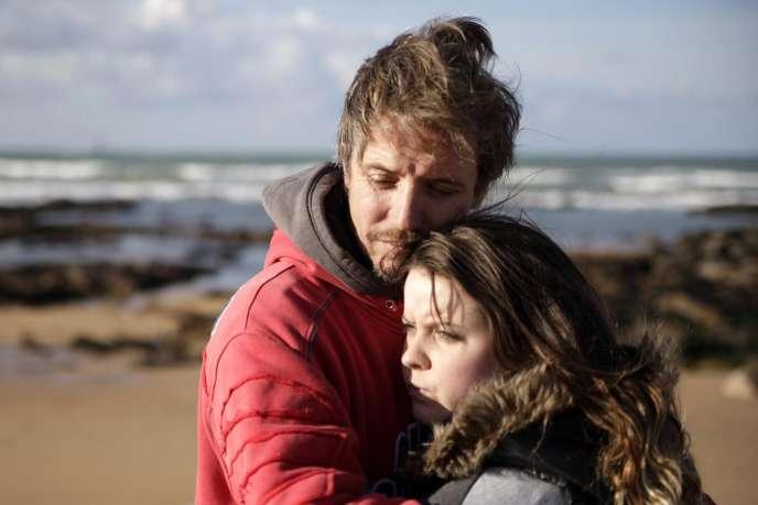 Dominique et Mailys Leborne dans le film français de Samuel Collardey,