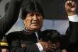 Le président bolivien Evo Morales lors d'une cérémonie officielle, le 22 février 2016 à La Paz.