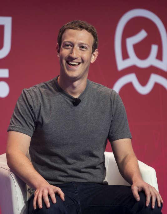 Mark Zuckerberg, le patron de Facebook, à Barcelone, en février.