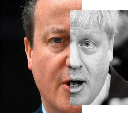 David Cameron et Boris Johnson.