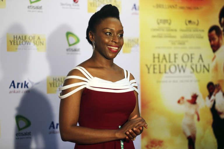 La Nigériane Chimamanda Ngozi Adichie, à Lagos (Nigeria), en 2014.
