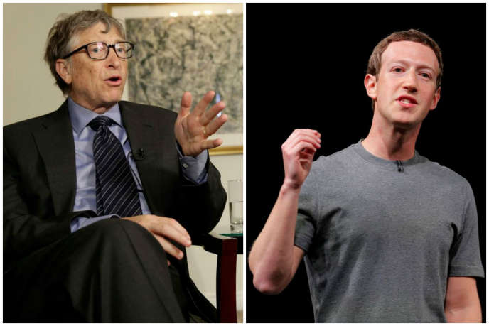 Bill Gates défend le FBI, Mark Zuckerberg Apple.