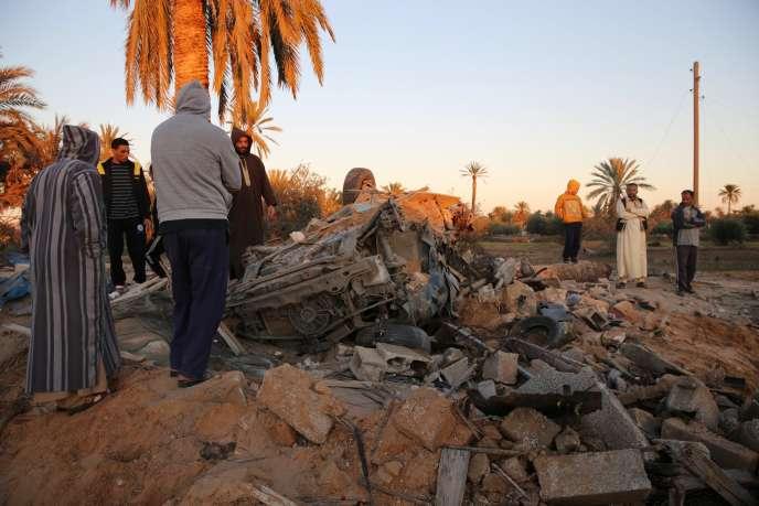 Le raid américain, le 19 février, contre un camp d'entraînement de l'EI à Sabratha a fait une cinquantaine de morts, dont «probablement» un chef de l'organisation djihadiste.