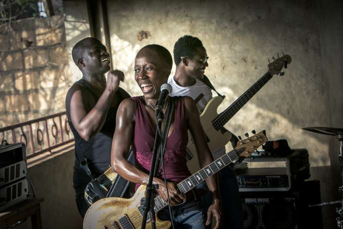 La chanteuse franco-malienne Rokia Traoré.