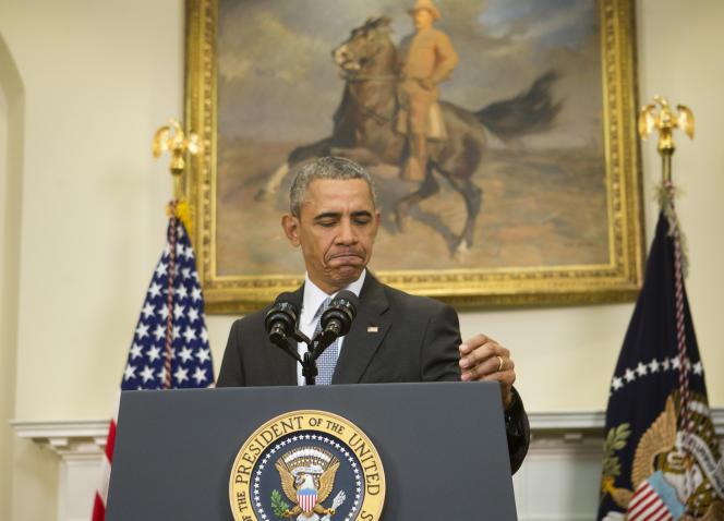 Barack Obama, le 23 février à la Maison Blanche. (AP Photo/Pablo Martinez Monsivais)