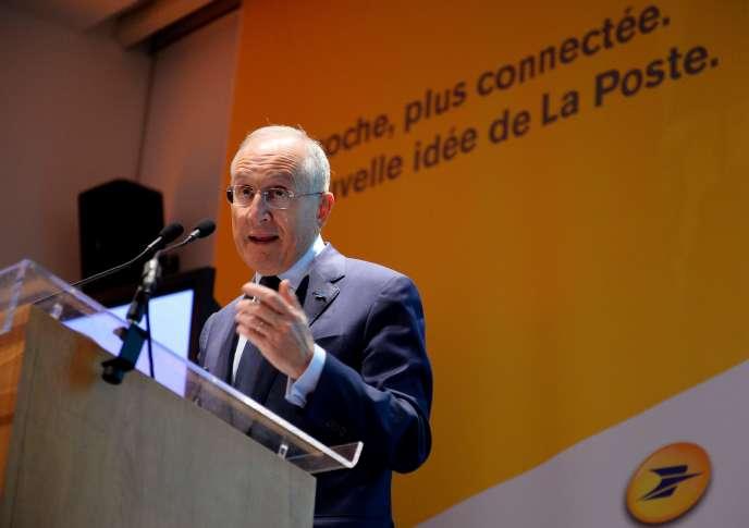 Philippe Wahl, PDG de La Poste, le 23 février, à Paris.