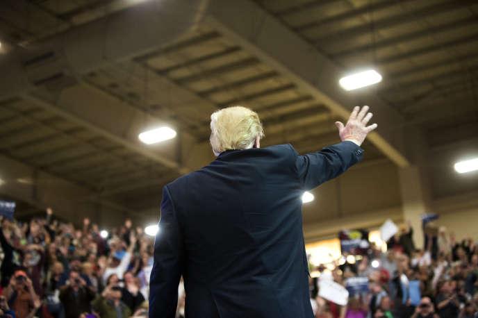 Donald Trump, à Las Vegas, le 22 février 2016.