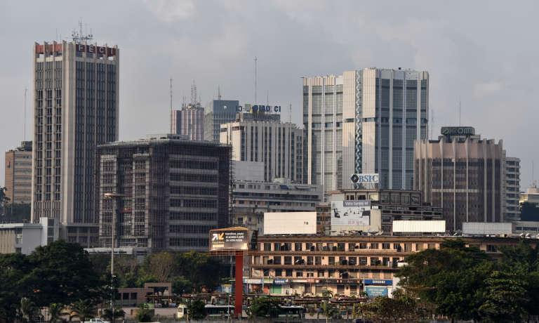 Le Plateau, quartier des affaires d'Abidjan.