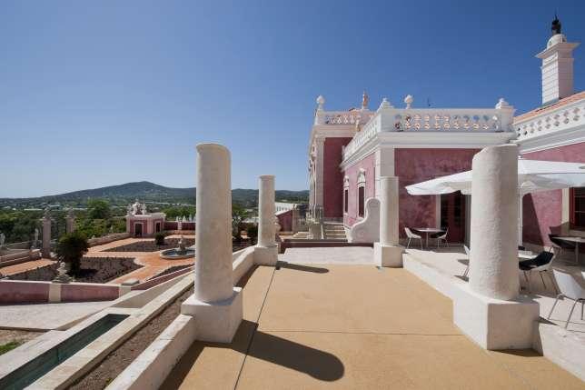 """Palacio de Estoi, l'une des plus belles """"pousadas"""" de l'Algarve."""