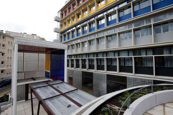 La Cité de refuge réhabilitée, dans le 13e arrondissement de Paris, le 10 février 2016.