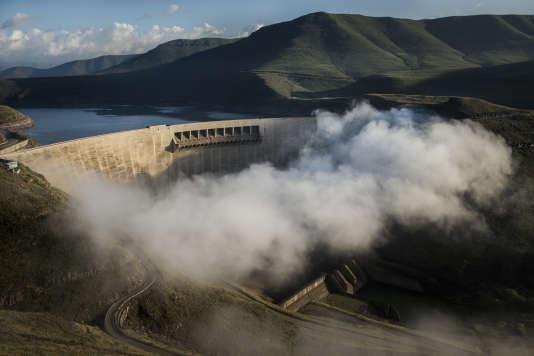 Le barrage de Katse au Lesotho.