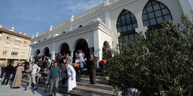 La mosquée de Fréjus le 26 février 2016.