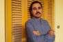 L'auteur égyptien Ahmed Naji au Caire.